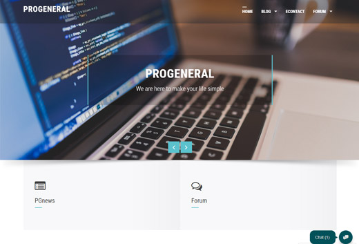 Web Developing - Design progeneral