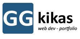 giorgos gkikas-portfolio web developer-web apps logo